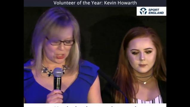 CPSA 2018 Awards – Kevin Howarth Volunteer OTY