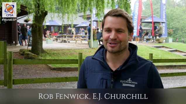 World ESP 2016 interview with Rob Fenwick