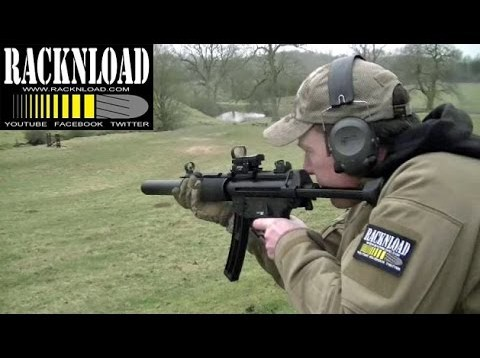 GSG MP5 SD .22 lr (RANGE TIME) Catton Park by RACKNLOAD