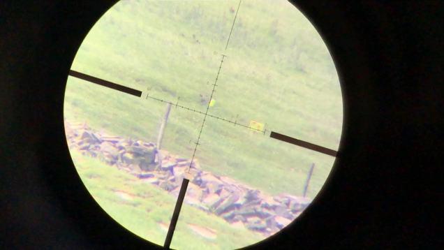 Tikka T3 .243 through the Side-Shot and Vortex Viper PST 400 yards
