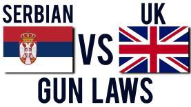 Serbian vs UK Gun Laws