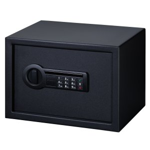portrait showing the Stack-On PS-1514 Personal Safe with Electronic Lock