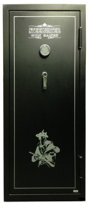 the Large Steelwater Standard Duty 20 Long Gun safe shown here