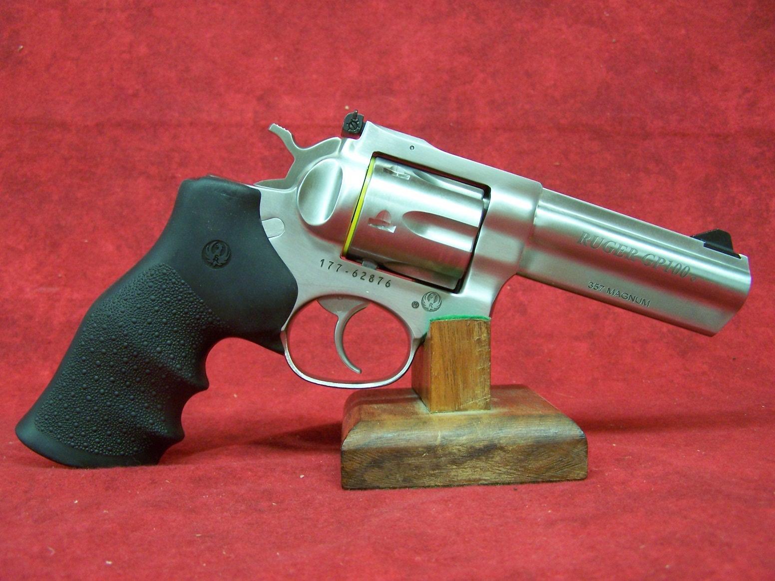 Ruger Gp100 357 Magnum 4 2 Barrel Satin Stai For Sale