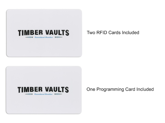 TimberVaults RFID Cards