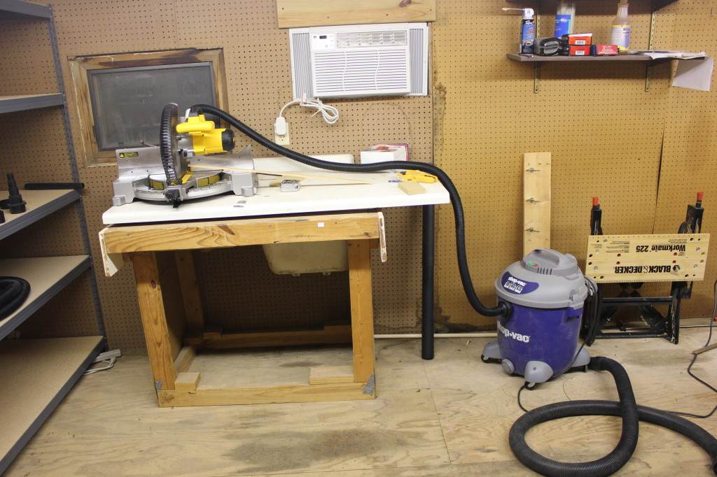 Dust Collection For A Dewalt Miter Saw Guns Cars And Tech