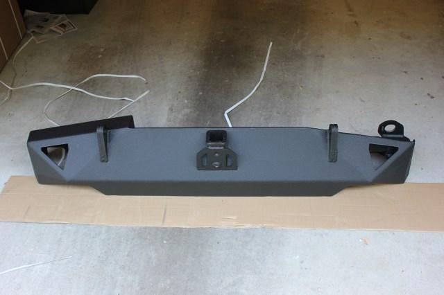 Smittybilt XRC 76851 Rear Bumper Bottom Side 1