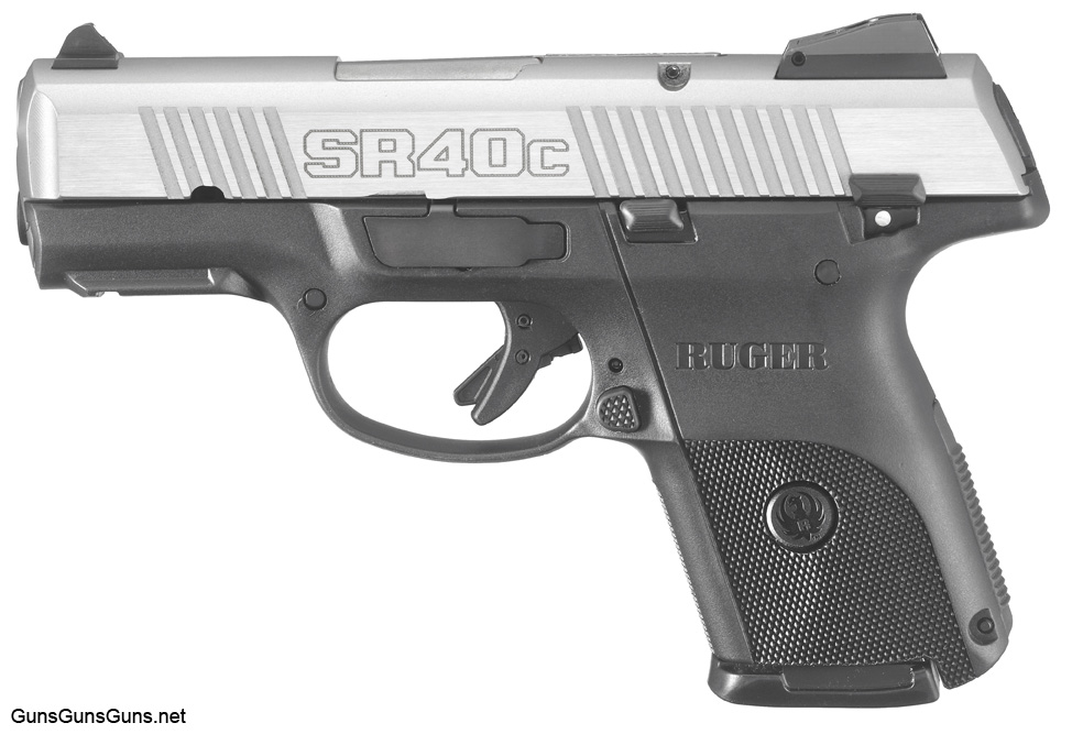 Handgun Review The Ruger Sr40c