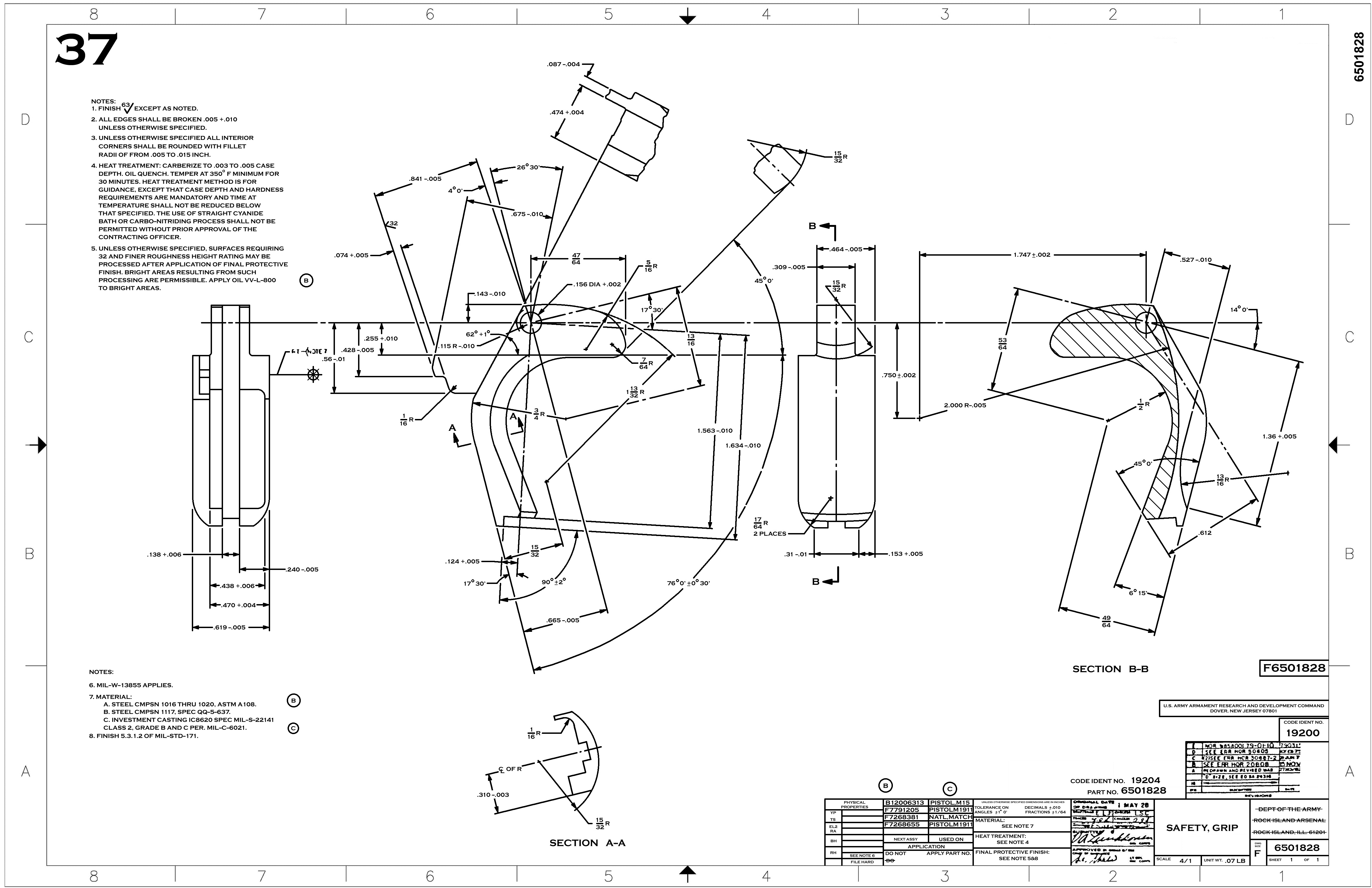 Ak 47 Schematic Drawing