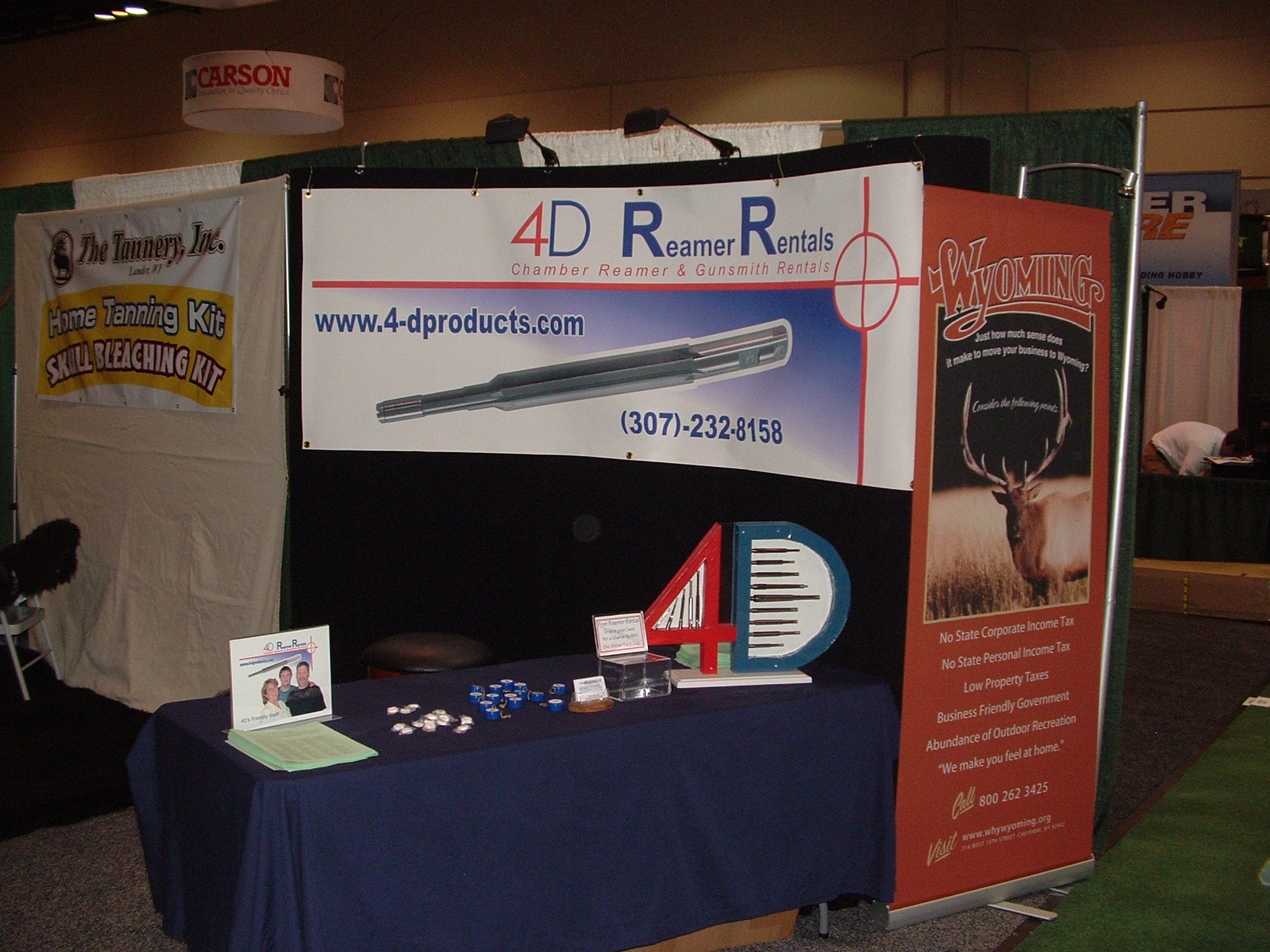 4D Reamer Rental Show Show booth 2009
