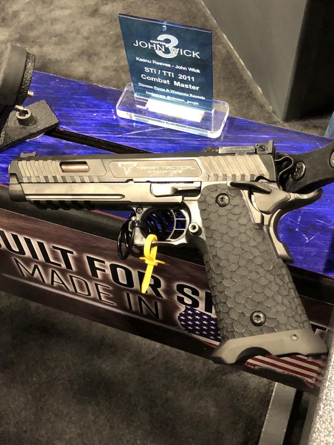 Taran Tactical STI 2011 Combat Master for John Wick - GunsNorth