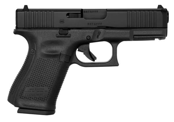 Glock PA195S203 G19 Gen5 DAO 9mm Luger 4.02″ 15+1 Black ...