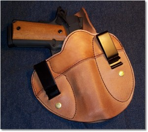 The Simply Rugged Holsters Cumberland (Versa Clip II) Holster.