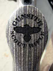 The Gunsite Logo on the Grip Cap
