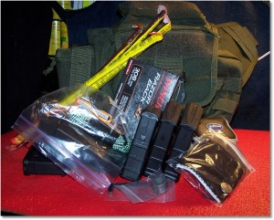 The .308 Operators Bag w/almost all of the support essentials for a days scouting