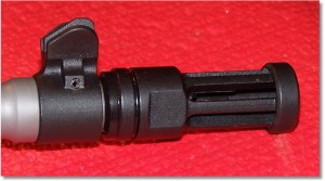 Removable Flash Suppressor. Replace with Provided End Cap or...