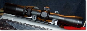 AIM Sport 2-7x32 SCout Scope with Warne Quick Detachable Mounts