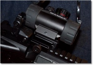 The UTG SCP-RG40CDQ Sight Viewed from the Right Side