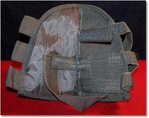 Fox Tactical Rifle Cheek Rest - Inside View