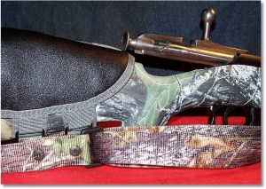 If mounted on a bolt-action rifle, ensure that the Fox Tactical Rifle Cheek Pad does not interfere with bolt operation.