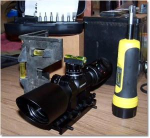 Leveling a Scope With a Sight Riser and a Flat Surface