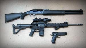 Three Common Guns for Personal and Home Defense