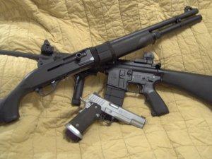 Three Firearms for Three Gun Challenges