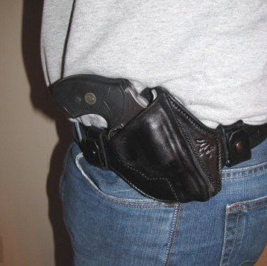 Crossdraw Holster (Note Negative Cant)