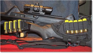 """A Pair of """"Grime"""" Removers - The Beretta CX4 Storm (""""His Shortness"""") and a Mossberg 500 20-gauge Shotgun (""""Baa-Baa"""", which means Bye Bye in baby-speak)"""