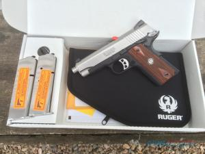 Two 7-Round Flush-Fit Magazines Are Provided With the Ruger SR1911CMD-A