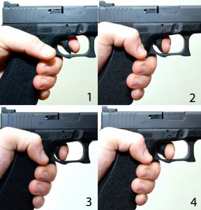 Pistols lend themselves to fast fire techniques