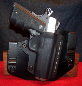 """Modified SHTF Gear Holster for 4.25"""" 1911 - Note Sweat Shield Removed"""