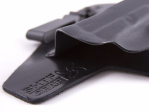 "Note Flared Entry Point on SHTF Gear Holsters and ""Combat Cut"" Sweat Shield"