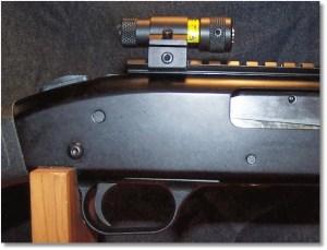 Top-Mounted Shotgun Laser Sight Example