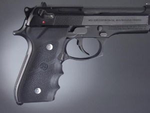 Hogue Wrap-Around Finger Groove Grip adorn all of my Carry Firearms - More Go Than Show.