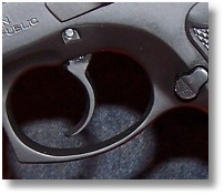 Heavily Curved and Wide Trigger