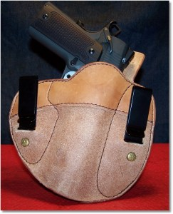 Looking Great in an IWB Holster From Simply Rugged