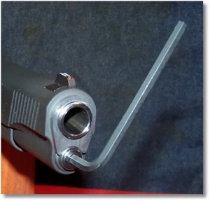 A 5/32-inch  Hex-Head Wrench is Needed to Separate the Guide Rod Halves