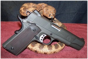 Springfield Armory 1911 Loaded with LOK Grip Panels