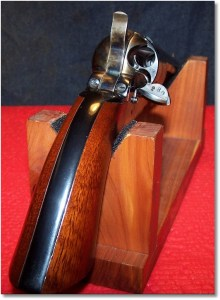 1872 Uberti Army Open-Top Revolver - Open Loading Gate Showing Massive  Chambers for the .45 LC Cartridge