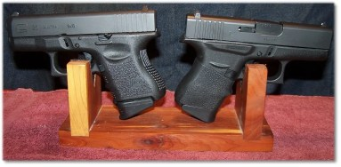 Glock G26 (Left) and Glock G43 (Right)