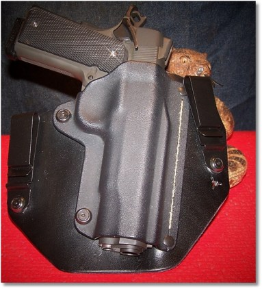 RIA 1911 FS Tactical In a SHTF Gear (Modified) IWB Holster