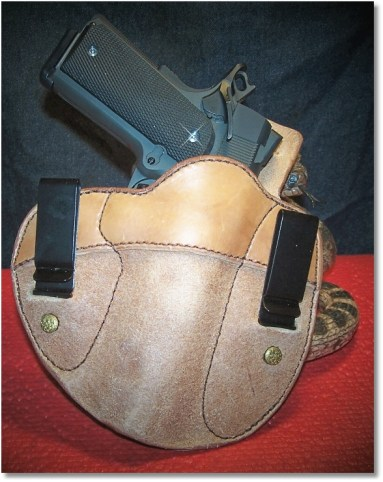 """RIA 1911 FS Tactical In a """"Cumberland"""" IWB Holster by Simply Rugged Holsters"""