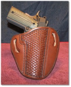 Looking Comfy in a Leather Creek OWB Holster