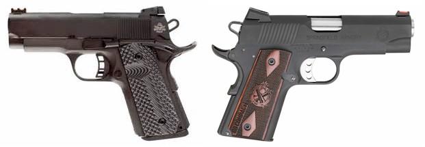 RIA 1911 Compact Ultra  45 ACP (51479) vs  Springfield Range