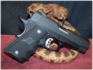 Springfield ROC Outfitted With Hogue Rubber Finger-Groove Wraparound Grip