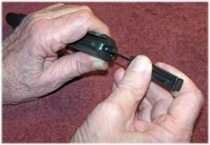 Firing Pin Removel