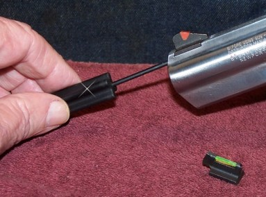 Use the Glock Tool to Replace Front Sights