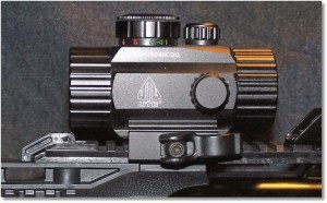 Red/Green Dot Optic Mounted (see article for detail)