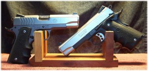 Ruger SR1911 Model 6722 (Left) in 9mm and Ruger SR1911 Model 6711 (Right) in .45 ACP